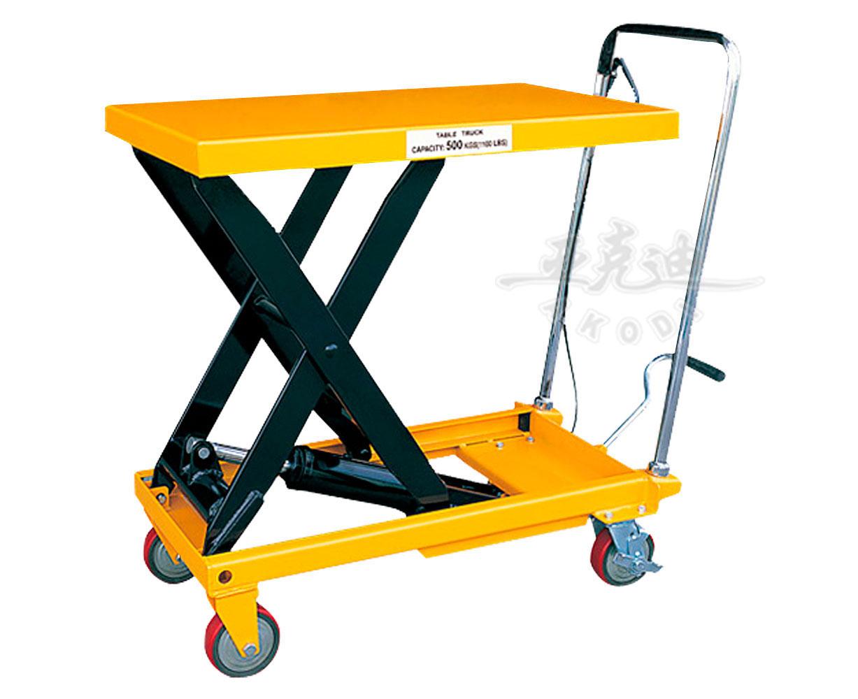 液压平台手推车-wps----江门叉车生产厂家|江门叉车